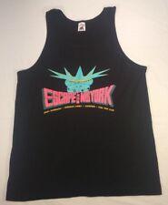 Vtg Escape From New York 1990 Concert Shirt Tank Top Ramones Debbie Harry