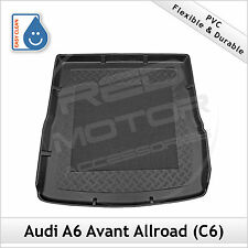 Audi A6 Allroad C6 2005 - 2011 Tailored Moulded PVC Mat Boot Liner Mat Bootmat
