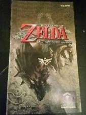 Notice seule zelda twilight princess game cube