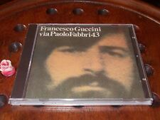 Francesco Guccini - Via Paolo Fabbri 43  Siae Inchiostro  Cd ..... New