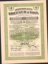 KREUGER & TOLL, allumettes suédoises (SUÈDE) (K)