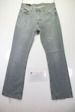 Lee Denver Bootcut (Cod. F1709) Tg46 W32 L34 jeans usato Grigio vintage Zampa