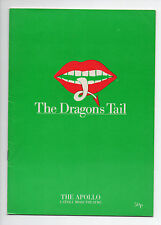The Dragon's Tail Apollo Stoll Moss Theatre Feb 1986 London Penelope Keith VG