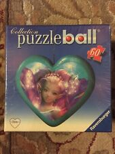 Ravensburger Heart Shaped Puzzleball Puzzle Ball Fairy 60 Pieces 2009 New Sealed