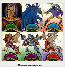 1995 Fleer Ultra Skeleton Warriors Suspended Animation Subset Full Set (10)
