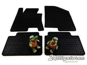 4 x Gummi-Fußmatten ☔ für HYUNDAI i30 II seitdem 2012