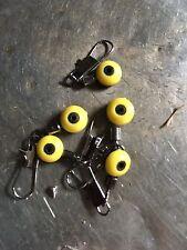 Waggler float adaptors, slider float, set of 10 bream, roach, tench fishing