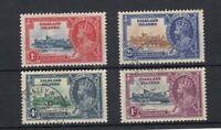 Falkland Islands KGV 1935 Silver Jubilee Set SG739/142 VFU JK839