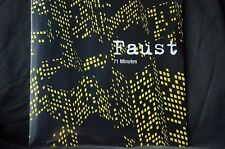 Faust 71 Minutes 2 X 180g Vinyl LP Limited Edition New + Sealed