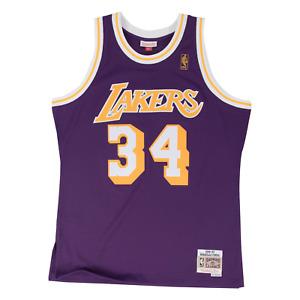 Mitchell & Ness Purple NBA Los Angeles Lakers 1996-97 Shaquille O'Neal Swingman