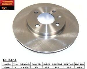 Disc Brake Rotor-GLS Front Best Brake GP3464