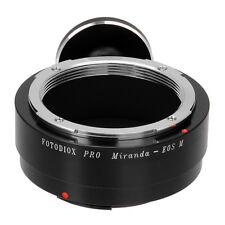 Fotodiox Pro Lens Adapter Miranda (MIR) Lens to Canon EOS M