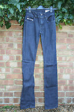 Diesel Brucke Stretch Fashion Style Designer Woman's Denim Blue Jeans W25 L34