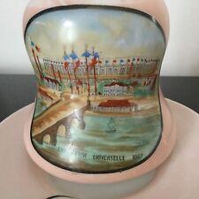 Rare Carafe EXPOSITION UNIVERSELLE PARIS 1867 Opaline