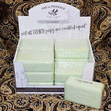 Pre de Provence CUCUMBER Case 12 x 250 Gram French Soap Bath Shower Bars Natural