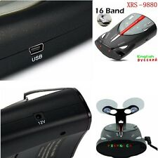 16-Band Radar Detector Cobra XRS 9880 Laser Anti Radar Detectors for DrivingSafa