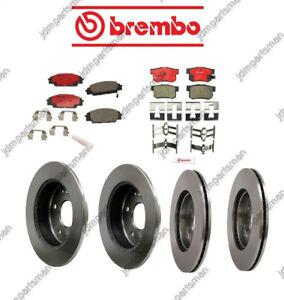 """BREMBO for HONDA CRV Front """"P28036N"""" & Rear """"P28051N"""" Ceramic Brakes"""