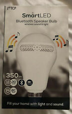 TCP Smart LED Bluetooth Speaker Bulb ES B22 12W = 30W Audio Music.