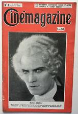 CINEMAGAZINE Année 1929 (51 numéros, manque le n°52) - TBE