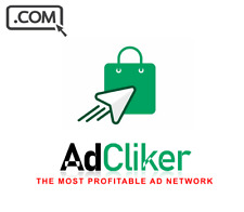 AdCliker .com  -Brandable premium Domain Name for sale - AD CLICK DOMAIN NAME