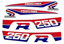 1986 Style Honda Trx 250r ATV decal set - trx250r 250r fourtrax (SALE PRICE)