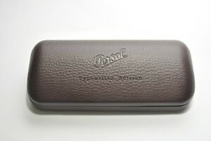 PERSOL Sunglasses Case Brown Hard Case Cleaning Paper And Box