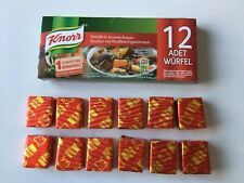 Knorr Beef Stock Cubes ( 12 cubes per pack ) Produced In Turkey - Free UK Post