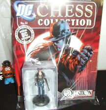 THE QUESTION RENEE MONTOYA EAGLEMOSS DC CHESS #32 HAND PAINTED RESIN FIGURE NEW