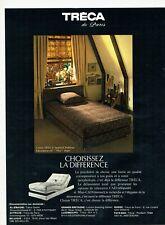 Publicité Advertising 129 1980  Tréca de Paris  literie Impérial Pullman  Nice