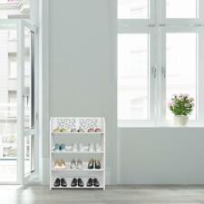 4 Tier Home Storage Organizer Standing Shoe Rack Shelf Cabinet Display Unit