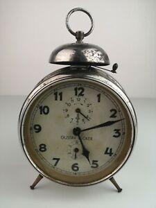 Vintage Gustav Becker German Alarm Clock
