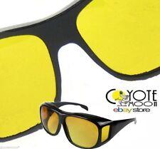 Unisexe hd lunettes de soleil fiashing, conduite s'adapte sur lunettes uv 400 protection