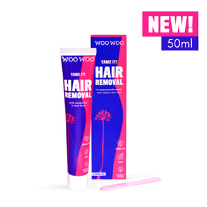 WooWoo Tame it! Womens Intimate Hair Removal Cream - 50ml