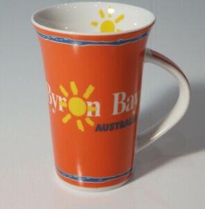 VTG BYRON BAY Tea Coffee Mug Cup with internal graphic 90's VGC