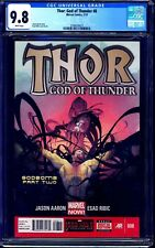 Thor God of Thunder #8 CGC 9.8 GORR LOVE AND THUNDER MOVIE NM/MT Jason Aaron