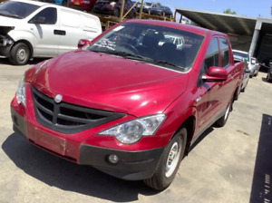 ssangyong actyon sports bonnet,2007-2011 shape 100 series a200s,red