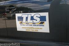 Custom Removable CAR DOOR MAGNET- 75cm x 20cm Advertise, business vehicle truck