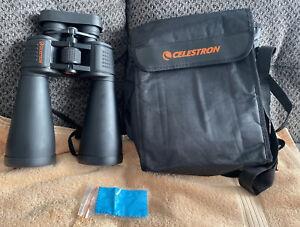 Celestron SkyMaster 15x70 Long Eye Relief FOV 4.4 Degree Binoculars Black w/Case