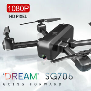 SG706 RC  with Dual Camera 1080P Optical  Positioning  Follow E7C6