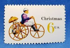 US Scott # 1417a 1970 6 Cent Christmas Stamp Toy Tricycle MNH