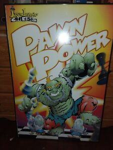 Academic Chess C 1997 Cartoon 3D PAWM POWER POSTERS