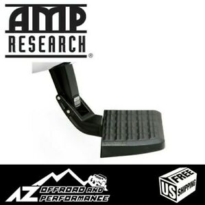Amp Research BedStep Bumper Step 09-18 Dodge Ram 1500 with Factory Dual Exhaust