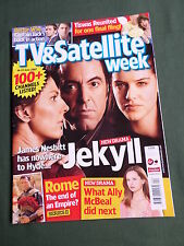 TV & SATELLITE WEEK UK MAGAZINE -16-22 JUNE 2007 -JEKYLL  - DOCTOR WHO