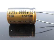 JAPAN 4pcs Nichicon MUSE FG(Fine Gold) 1000Uf 35V 1000mfd Audio Capacitor