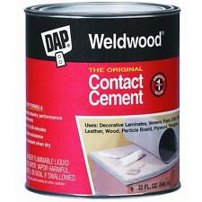 Quart Contact Cement DAP 272 offers instant & professional quality adhesive 6PK