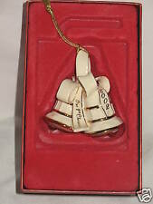 Lenox 2002 First Christmas Together Ornament Boxed Happy 16th Anniversary