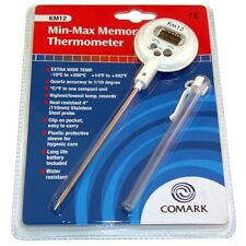 """THERMOMETER DIGITALPOCKET 7"""" L for Dishwasher -4 TO 400 F SUBMERSIBLE 621131"""