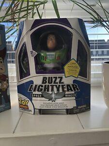 *RARE* Disney Toy Story Collection Buzz Lightyear White Logo Mint