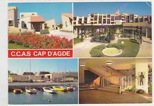 CPSM 34300 CAP D AGDE Village de vacances C.C.A.S.multivues 4 vues Edt SL n2