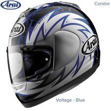 #ARAI CONDOR - MOTORCYCLE HELMET - VOLTAGE BLUE - SMALL - MINT COND - £104.99